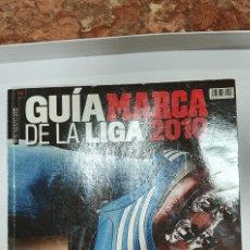 Coleccionismo deportivo: GUIA MARCA DE LA LIGA 2010- LA LIGA, SUDAFRICA -REVISTA MUNDIAL SUDÁFRICA 2010 ESPAÑA CAMPEONA. Lote 208199583