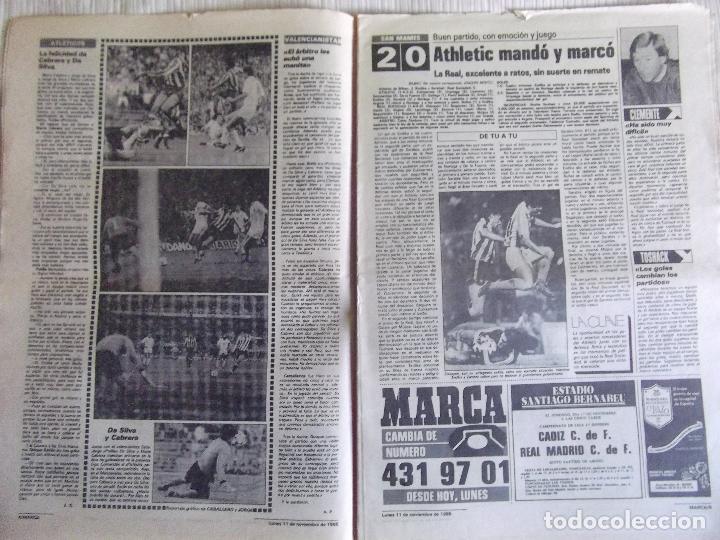 Coleccionismo deportivo: MARCA-1985-Nº13636-LA LIGA-SETIEN-CLEMENTE-CARDO-NOVOA-LUIS COSTA-PAQUITO-CANTATORE-MAGUREGUI-ALZATE - Foto 2 - 21141875