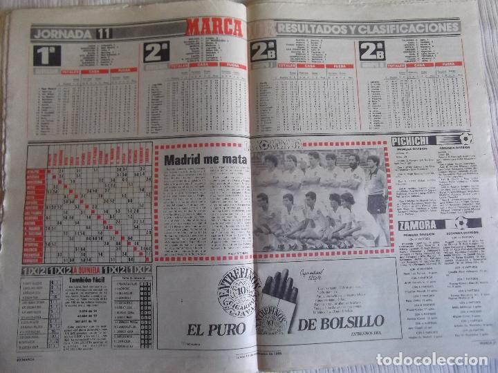 Coleccionismo deportivo: MARCA-1985-Nº13636-LA LIGA-SETIEN-CLEMENTE-CARDO-NOVOA-LUIS COSTA-PAQUITO-CANTATORE-MAGUREGUI-ALZATE - Foto 3 - 21141875