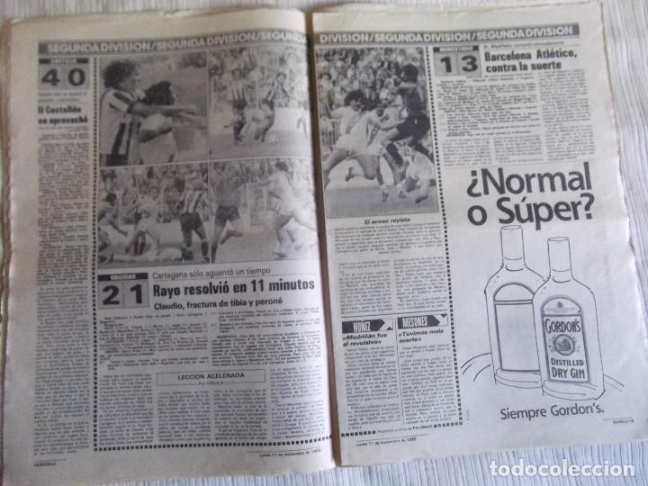 Coleccionismo deportivo: MARCA-1985-Nº13636-LA LIGA-SETIEN-CLEMENTE-CARDO-NOVOA-LUIS COSTA-PAQUITO-CANTATORE-MAGUREGUI-ALZATE - Foto 4 - 21141875