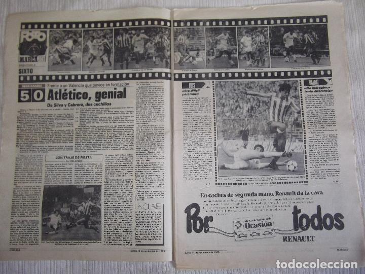 Coleccionismo deportivo: MARCA-1985-Nº13636-LA LIGA-SETIEN-CLEMENTE-CARDO-NOVOA-LUIS COSTA-PAQUITO-CANTATORE-MAGUREGUI-ALZATE - Foto 8 - 21141875
