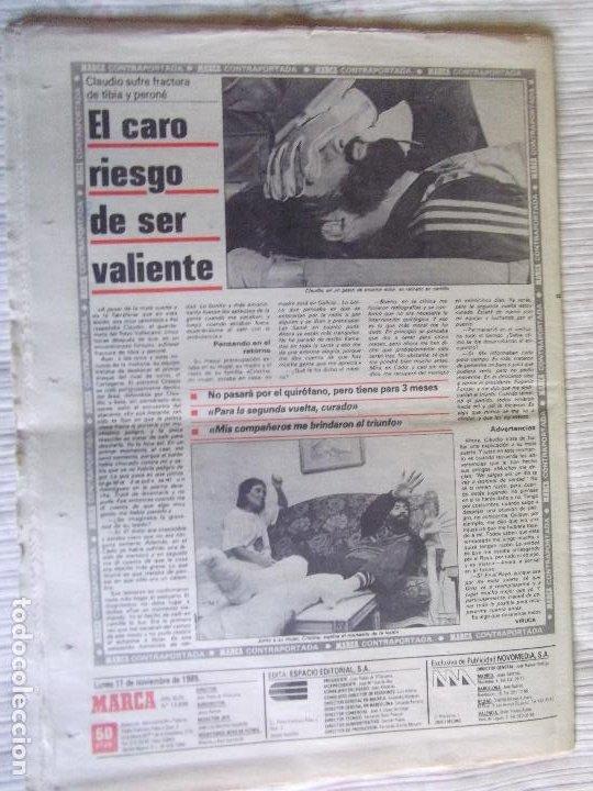 Coleccionismo deportivo: MARCA-1985-Nº13636-LA LIGA-SETIEN-CLEMENTE-CARDO-NOVOA-LUIS COSTA-PAQUITO-CANTATORE-MAGUREGUI-ALZATE - Foto 11 - 21141875