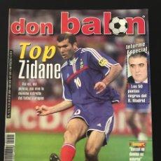 Coleccionismo deportivo: FÚTBOL DON BALÓN 1291 - POSTER HENRY - ZIDANE - ATHLETIC - CELTA - EUROREVELACIONES - AS MARCA. Lote 208483598