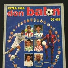 Collectionnisme sportif: FÚTBOL DON BALÓN - EXTRA LIGA 37 TEMPORADA 97-98 - AS MARCA ALBUM CROMO SPORT. Lote 208488295