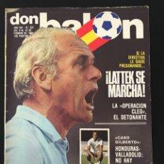 Coleccionismo deportivo: FÚTBOL DON BALÓN 331 - BARCELONA - M. ÁNGEL - TENDILLO - SEVILLA - MUNDIAL 82 ESPAÑA - AS MARCA. Lote 208489353