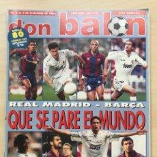 Coleccionismo deportivo: FÚTBOL DON BALÓN 1103 - POSTER RAYO - SALAMANCA - PONTEVEDRA - AURRERÁ - YECLANO - JAÉN - AS MARCA. Lote 208866878