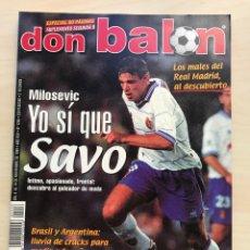 Coleccionismo deportivo: FÚTBOL DON BALÓN 1256 - BETIS - LLEIDA - MENSAJERO - GIMNÁSTICA - HÉRCULES - GRAMENET - JAÉN - AS. Lote 208907363