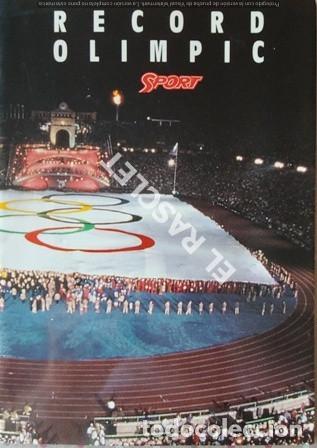 EL DIARIO SPORT - T,OFEREIX EL MILLOR RECORD OLIMPIC DE BARCELONA 92 - (Coleccionismo Deportivo - Revistas y Periódicos - Sport)