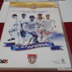 Coleccionismo deportivo: DVD Nº 1 REAL MADRID GLORIAS BLANCAS - KOPA, AMANCIO, JUANITO, MICHEL, BECKHAM - EL ALA INFERNAL. Lote 209045135