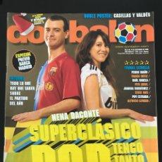Coleccionismo deportivo: FÚTBOL DON BALÓN 1730 - BARÇA - XEREZ - REAL UNIÓN - FUERTEVENTURA - MELILLA - VILLARREAL - AS MARCA. Lote 209207766