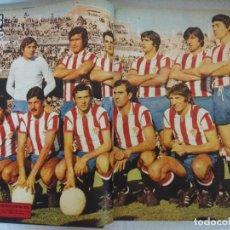 Coleccionismo deportivo: ENCUADERNADO AS COLOR AÑOS 70/Nº 194 AL 213/POSTERS SPORTING-BARCELONA-SELECION-MADRID-ATLETICO.. Lote 209416160