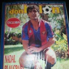 Coleccionismo deportivo: DON BALON 817. Lote 209726815
