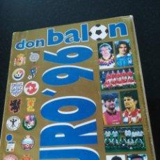 Coleccionismo deportivo: DON BALON EURO 96. Lote 209850957
