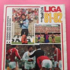 Coleccionismo deportivo: EXTRA DON BALON LIGA 81-82 - ESPECIAL GUIA LIGA FUTBOL 1981/1982. Lote 209936966
