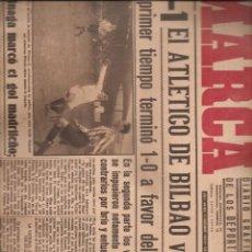 Coleccionismo deportivo: 2320. MARCA 14 DICIEMBRE 1943. AT. BILBAO/MADRID + ESPAÑOL/SEVILLA. Lote 209939075