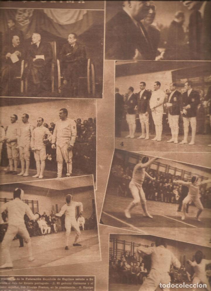 Coleccionismo deportivo: 2321. MARCA ........25 FEBRERO 1947. ESQUI. SELECCION FUTBOL. ESGRIMA - Foto 2 - 209940525