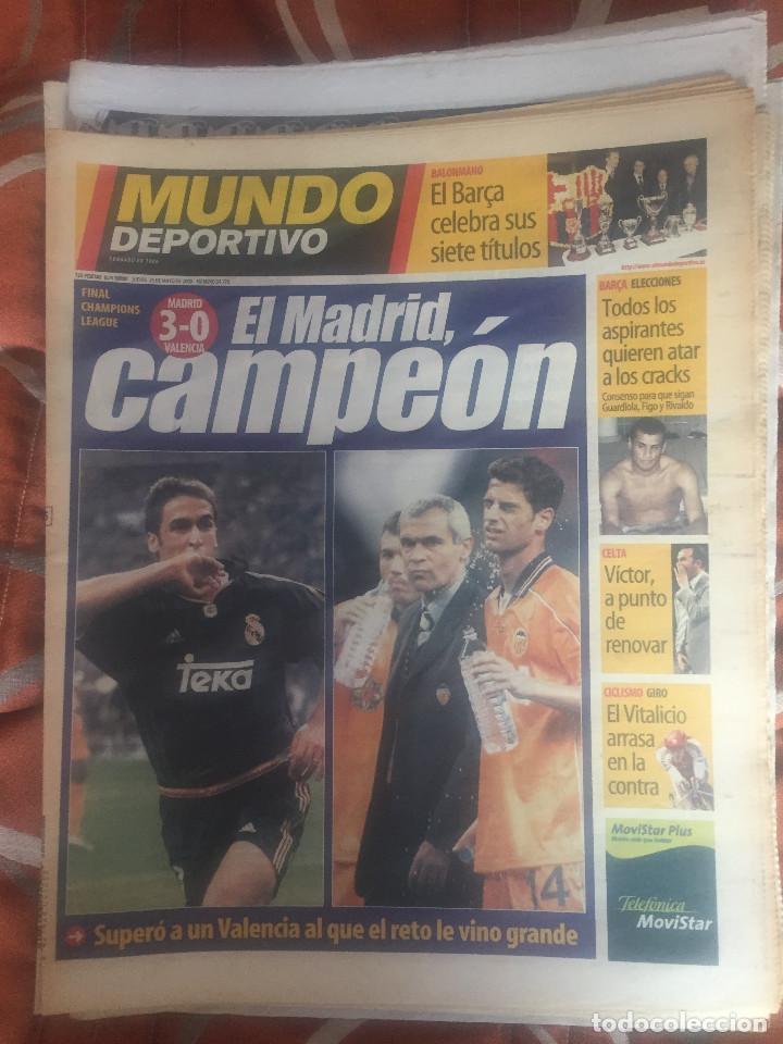 MUNDO DEPORTIVO, 8ª COPA DE EUROPA DEL REAL MADRID (Coleccionismo Deportivo - Revistas y Periódicos - Mundo Deportivo)