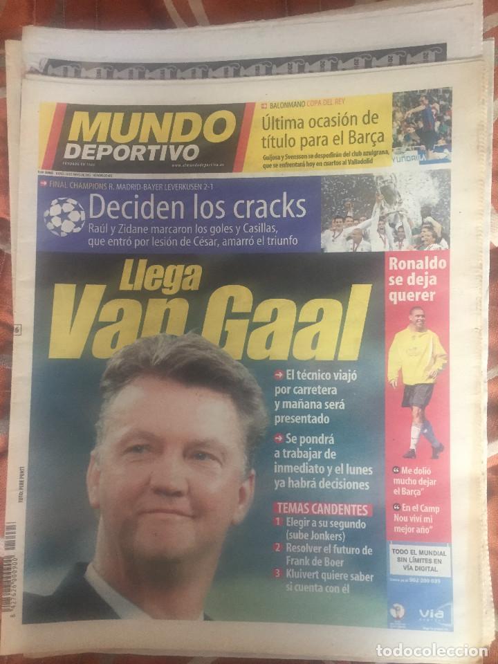 MUNDO DEPORTIVO, 9ª COPA DE EUROPA DEL REAL MADRID (Coleccionismo Deportivo - Revistas y Periódicos - Mundo Deportivo)