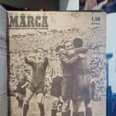 Coleccionismo deportivo: TOMO DIARIO MARCA 1948 (+DIARIO AVANTE) LEER DESCRIPCION ANTES DE COMPRAR. Lote 210044606