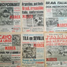 Colecionismo desportivo: COLECCION COMPLETA DIARIO MARCA MUNDIAL ESPAÑA 82 FIFA WM 1982 ITALY WORLD CUP SPAIN 29 PERIODICOS. Lote 210048627