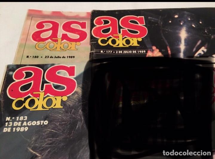 LOTE DE 3 REVISTAS AS COLOR (Coleccionismo Deportivo - Revistas y Periódicos - As)