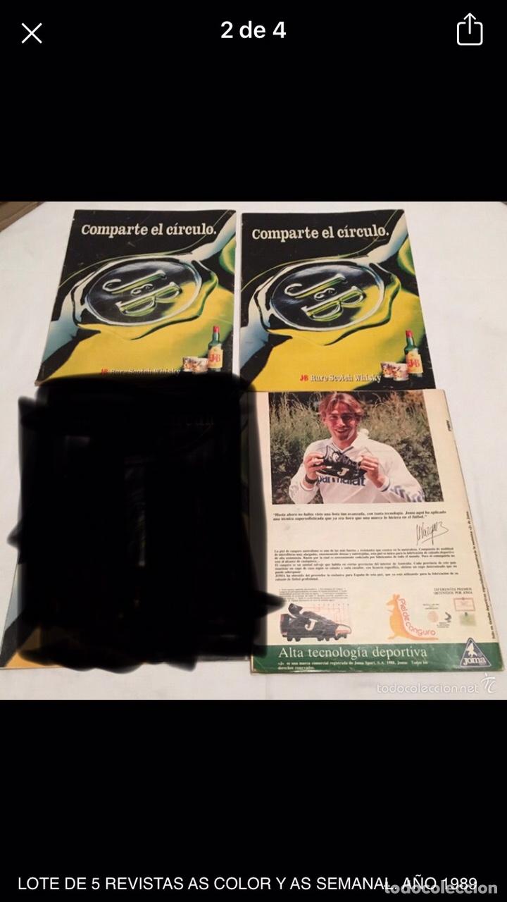 Coleccionismo deportivo: LOTE DE 3 REVISTAS AS COLOR - Foto 2 - 210062276