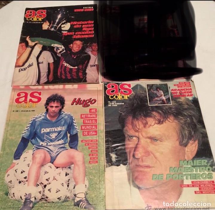 Coleccionismo deportivo: LOTE DE 3 REVISTAS AS COLOR - Foto 3 - 210062276