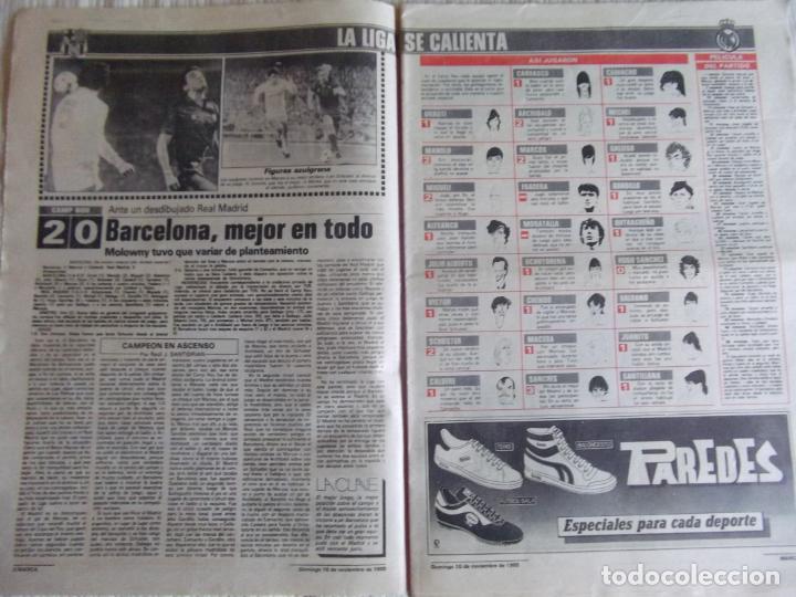 Coleccionismo deportivo: MARCA-1985-Nº13635-BARSA O.K.-AZCARGORTA-CLEMENTE-PAQUITO-GARCIA TRAID-LUIS COSTA-NOVOA-ZABALZA - Foto 2 - 21141911