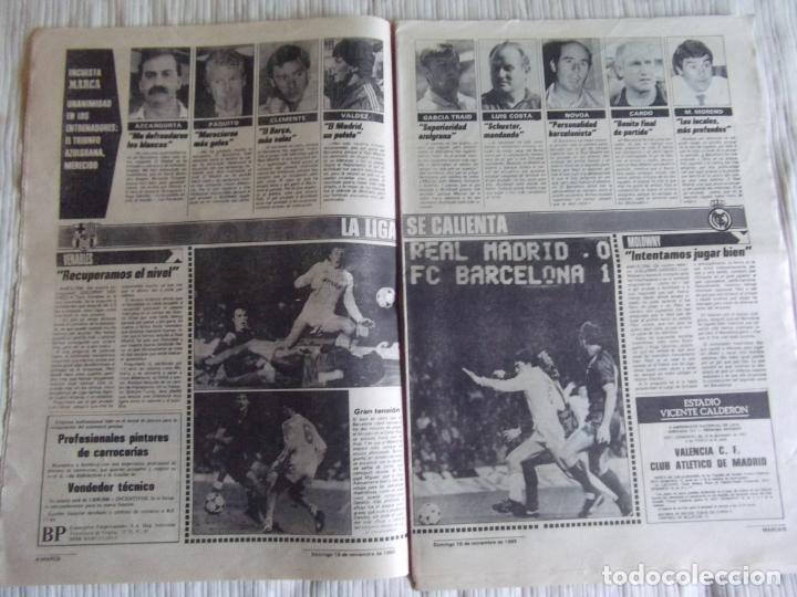 Coleccionismo deportivo: MARCA-1985-Nº13635-BARSA O.K.-AZCARGORTA-CLEMENTE-PAQUITO-GARCIA TRAID-LUIS COSTA-NOVOA-ZABALZA - Foto 3 - 21141911