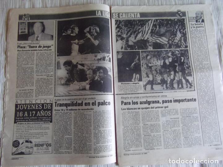 Coleccionismo deportivo: MARCA-1985-Nº13635-BARSA O.K.-AZCARGORTA-CLEMENTE-PAQUITO-GARCIA TRAID-LUIS COSTA-NOVOA-ZABALZA - Foto 4 - 21141911