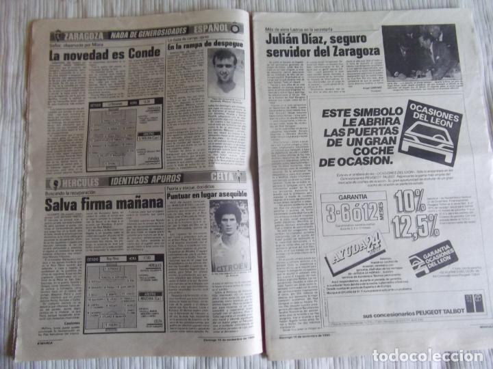 Coleccionismo deportivo: MARCA-1985-Nº13635-BARSA O.K.-AZCARGORTA-CLEMENTE-PAQUITO-GARCIA TRAID-LUIS COSTA-NOVOA-ZABALZA - Foto 5 - 21141911