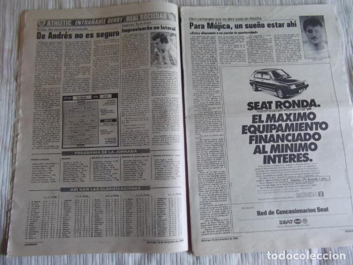 Coleccionismo deportivo: MARCA-1985-Nº13635-BARSA O.K.-AZCARGORTA-CLEMENTE-PAQUITO-GARCIA TRAID-LUIS COSTA-NOVOA-ZABALZA - Foto 6 - 21141911