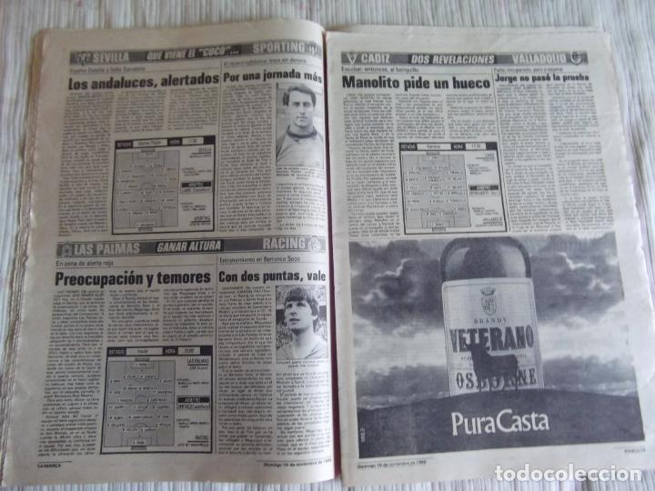 Coleccionismo deportivo: MARCA-1985-Nº13635-BARSA O.K.-AZCARGORTA-CLEMENTE-PAQUITO-GARCIA TRAID-LUIS COSTA-NOVOA-ZABALZA - Foto 8 - 21141911