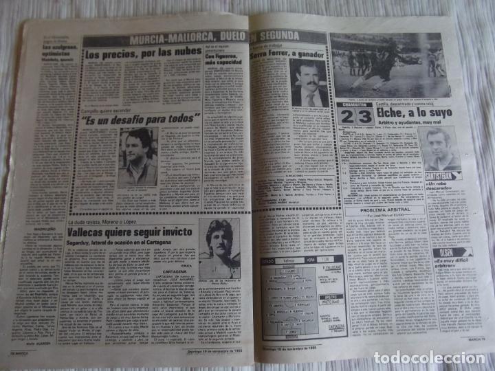 Coleccionismo deportivo: MARCA-1985-Nº13635-BARSA O.K.-AZCARGORTA-CLEMENTE-PAQUITO-GARCIA TRAID-LUIS COSTA-NOVOA-ZABALZA - Foto 10 - 21141911