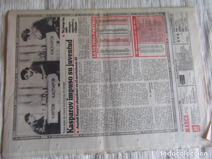 Coleccionismo deportivo: MARCA-1985-Nº13635-BARSA O.K.-AZCARGORTA-CLEMENTE-PAQUITO-GARCIA TRAID-LUIS COSTA-NOVOA-ZABALZA - Foto 11 - 21141911