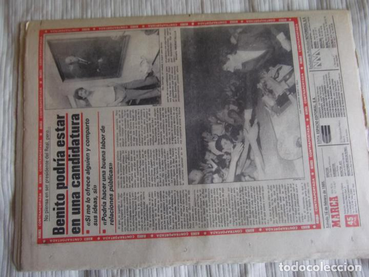 Coleccionismo deportivo: MARCA-1985-Nº13407-MAGICO DIAZ-NO COMPLETO - Foto 2 - 21141967
