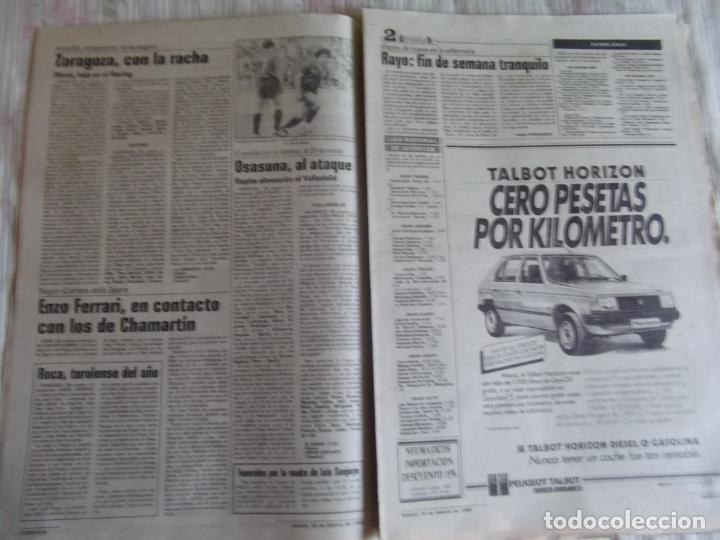 Coleccionismo deportivo: MARCA-1985-Nº13407-MAGICO DIAZ-NO COMPLETO - Foto 6 - 21141967