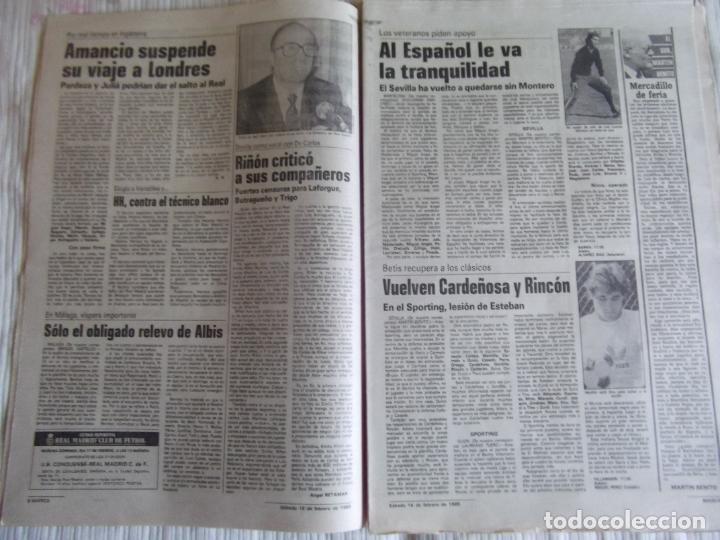 Coleccionismo deportivo: MARCA-1985-Nº13407-MAGICO DIAZ-NO COMPLETO - Foto 8 - 21141967