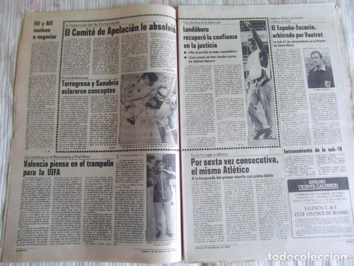 Coleccionismo deportivo: MARCA-1985-Nº13407-MAGICO DIAZ-NO COMPLETO - Foto 9 - 21141967