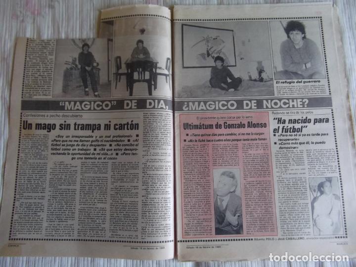 Coleccionismo deportivo: MARCA-1985-Nº13407-MAGICO DIAZ-NO COMPLETO - Foto 10 - 21141967