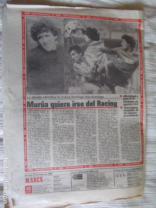Coleccionismo deportivo: MARCA-1985-Nº13414- - Foto 2 - 21142004