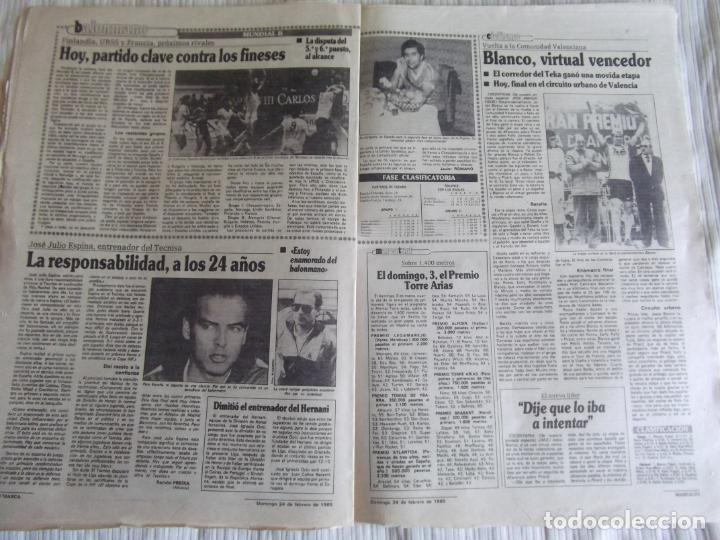 Coleccionismo deportivo: MARCA-1985-Nº13414- - Foto 5 - 21142004