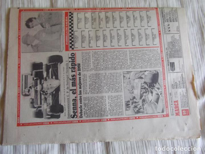 Coleccionismo deportivo: MARCA-1985-Nº13461-CON LA PRIMERA EN JUEGO-MOLOWNY-DE CARLOS-ABLANEDO-CARRIEGA-ARSENIO - Foto 3 - 21142047