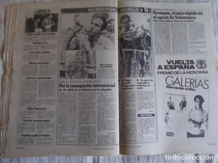Coleccionismo deportivo: MARCA-1985-Nº13461-CON LA PRIMERA EN JUEGO-MOLOWNY-DE CARLOS-ABLANEDO-CARRIEGA-ARSENIO - Foto 4 - 21142047