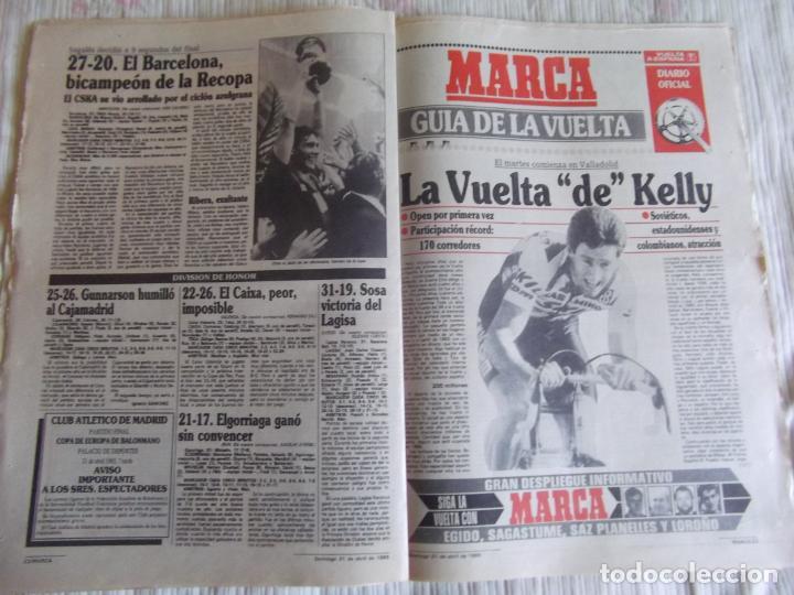 Coleccionismo deportivo: MARCA-1985-Nº13461-CON LA PRIMERA EN JUEGO-MOLOWNY-DE CARLOS-ABLANEDO-CARRIEGA-ARSENIO - Foto 6 - 21142047