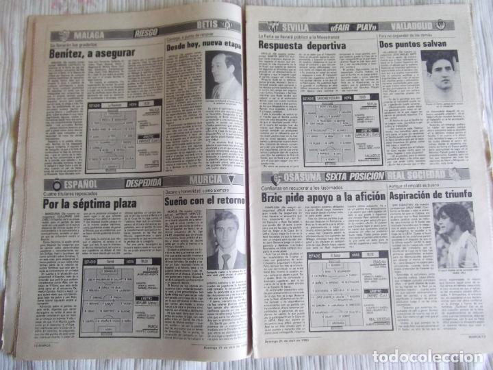 Coleccionismo deportivo: MARCA-1985-Nº13461-CON LA PRIMERA EN JUEGO-MOLOWNY-DE CARLOS-ABLANEDO-CARRIEGA-ARSENIO - Foto 9 - 21142047