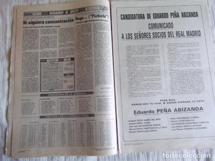 Coleccionismo deportivo: MARCA-1985-Nº13461-CON LA PRIMERA EN JUEGO-MOLOWNY-DE CARLOS-ABLANEDO-CARRIEGA-ARSENIO - Foto 10 - 21142047