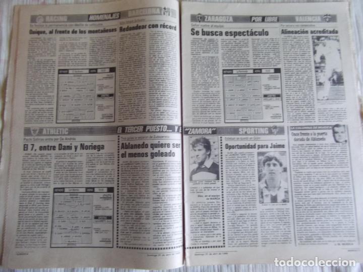 Coleccionismo deportivo: MARCA-1985-Nº13461-CON LA PRIMERA EN JUEGO-MOLOWNY-DE CARLOS-ABLANEDO-CARRIEGA-ARSENIO - Foto 11 - 21142047