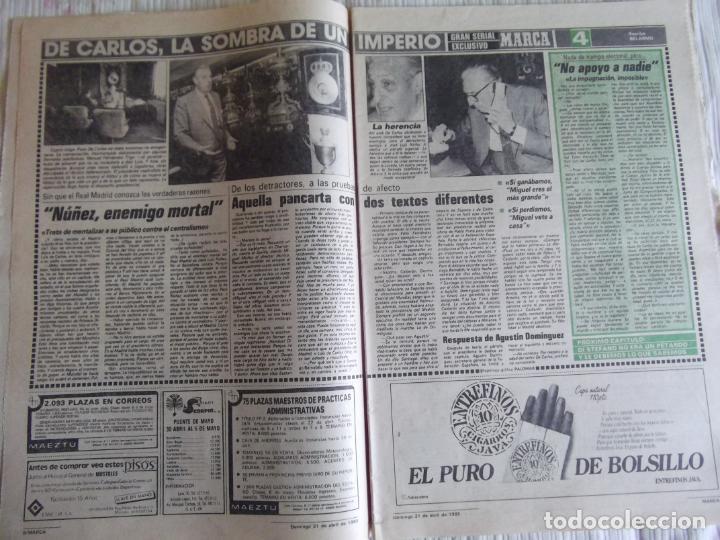 Coleccionismo deportivo: MARCA-1985-Nº13461-CON LA PRIMERA EN JUEGO-MOLOWNY-DE CARLOS-ABLANEDO-CARRIEGA-ARSENIO - Foto 12 - 21142047