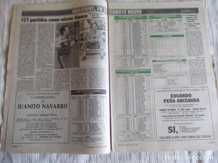 Coleccionismo deportivo: MARCA-1985-Nº13461-CON LA PRIMERA EN JUEGO-MOLOWNY-DE CARLOS-ABLANEDO-CARRIEGA-ARSENIO - Foto 13 - 21142047
